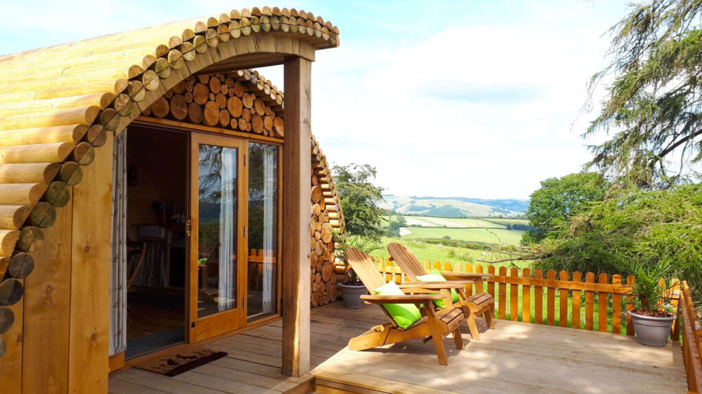 A Hush Hush Glamping Pod in Wales