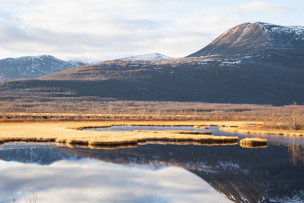 There's plenty of places to switch off from the world in Swedish Lapland