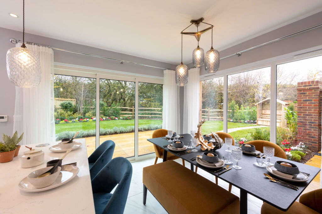 Kitchen Family room in one of the Radstone Gate properties