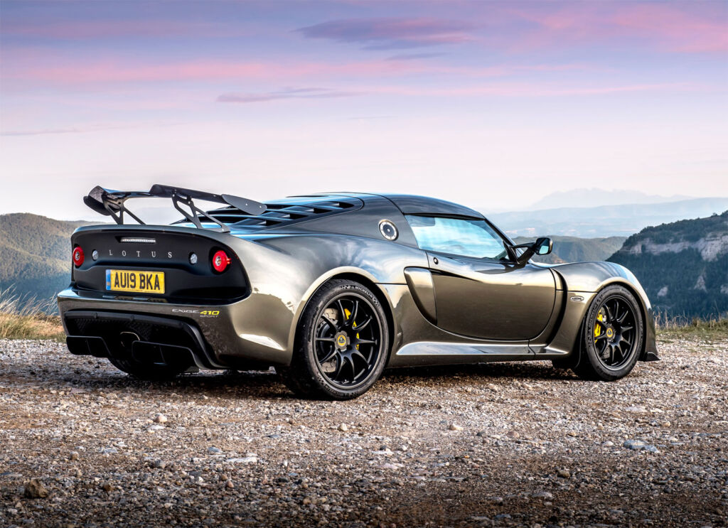 Lotus Elise Exige 410 Sport in dark grey
