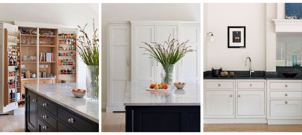 Details within Martin Moore's simplified kitchen design