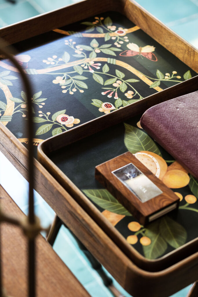 Mary Justice Designs Flora Collection for the office