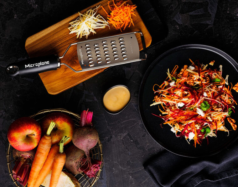 The Microplane Gourmet Series Fine Julienne Blade Cuts Through the Hassle