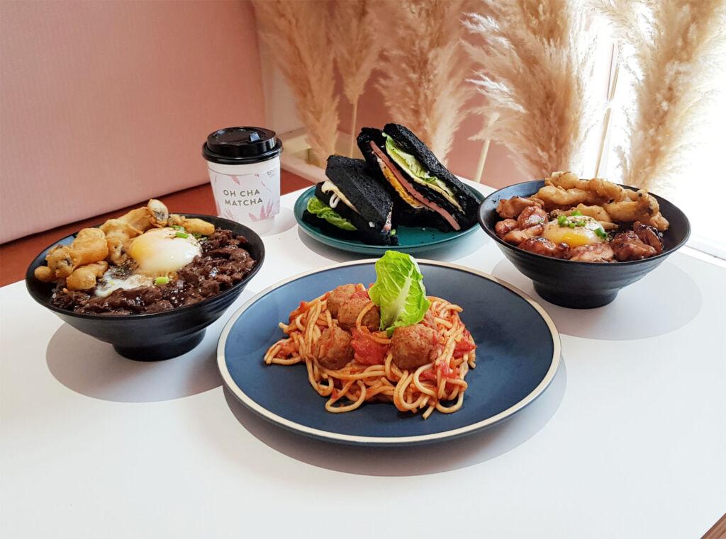Oh Cha Matcha Kuala Lumpur menu