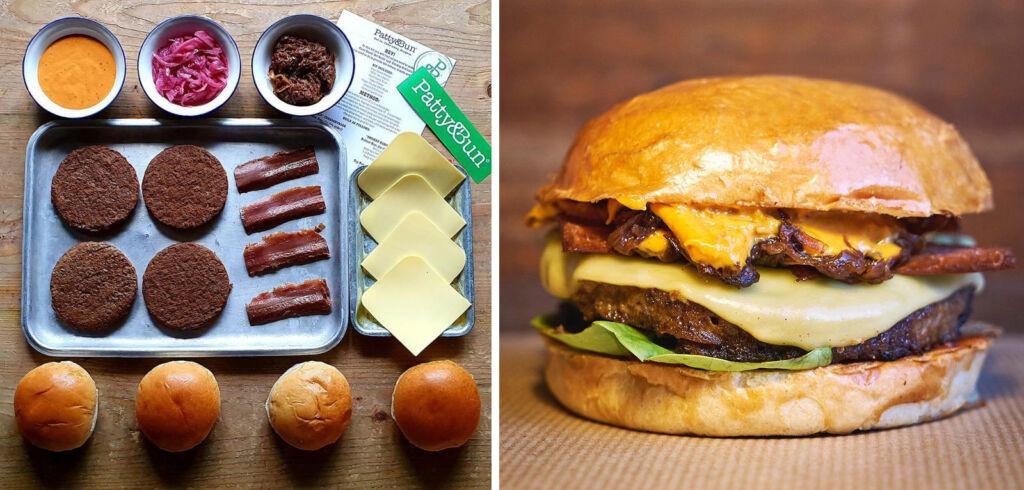 Plateaway Vegan Patty and Bun