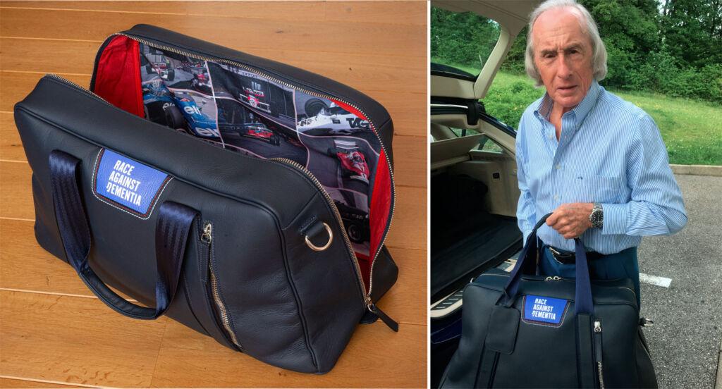 Sir Jackie Stewart Race Against Dementia Holdall