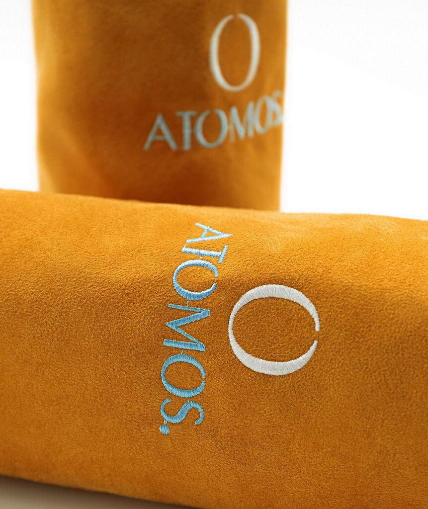 The Atomos Handsewn Alcantara Pouch