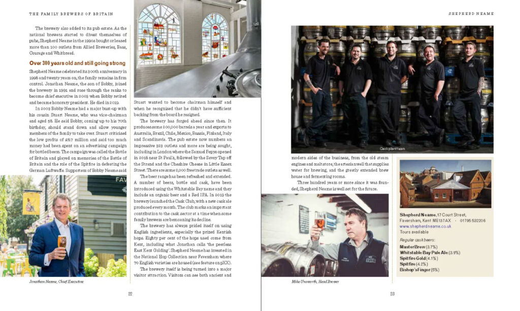 Pages from The Family Brewers of Britain