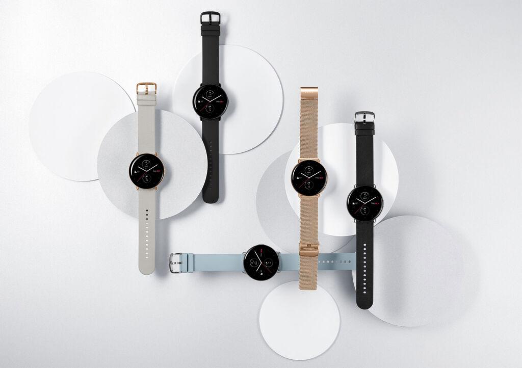 Zepp E Smartwatch choice of straps