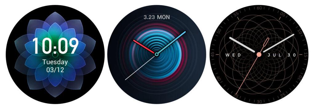 Zepp E Smartwatch faces