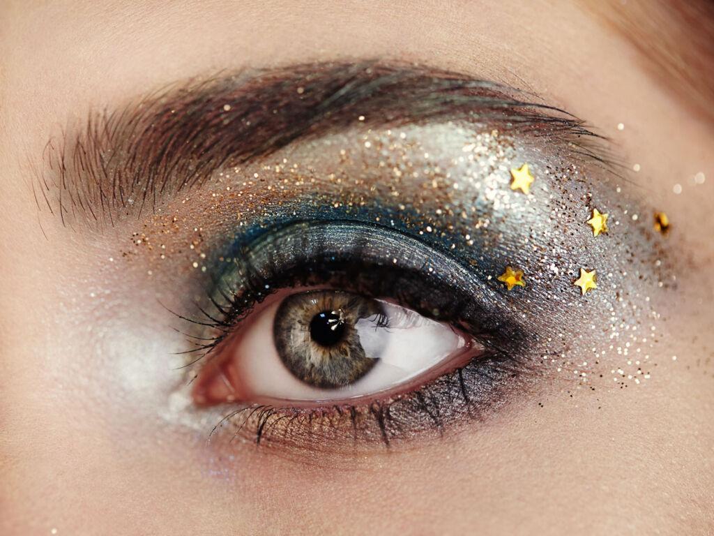 A beautiful womans eye