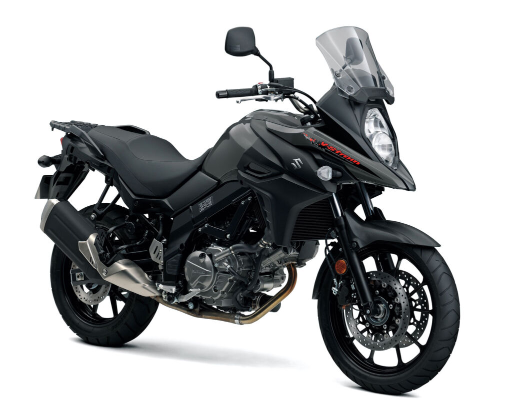 All black version of the Vstorm 650 side view