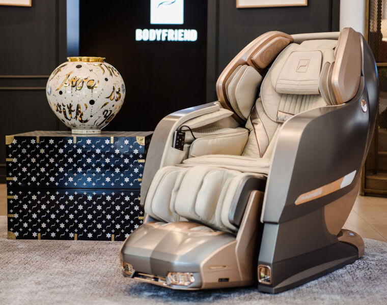 Luxury massage Chair Brand Bodyfriend sees 100% Spike in Post-lockdown Sales