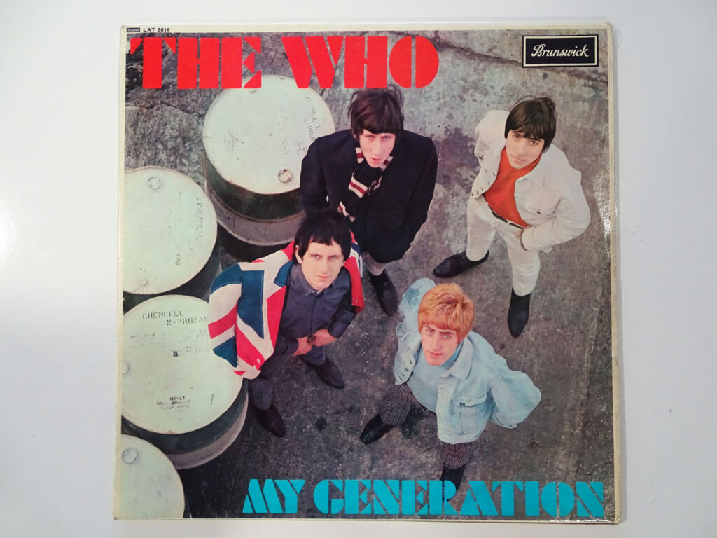 Brunswick The Who My Generation Album from 1965