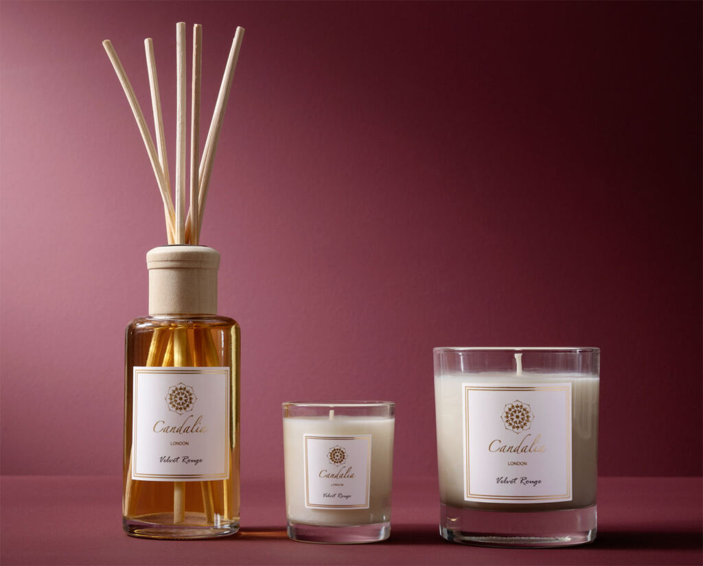 Candalia London range of scented products