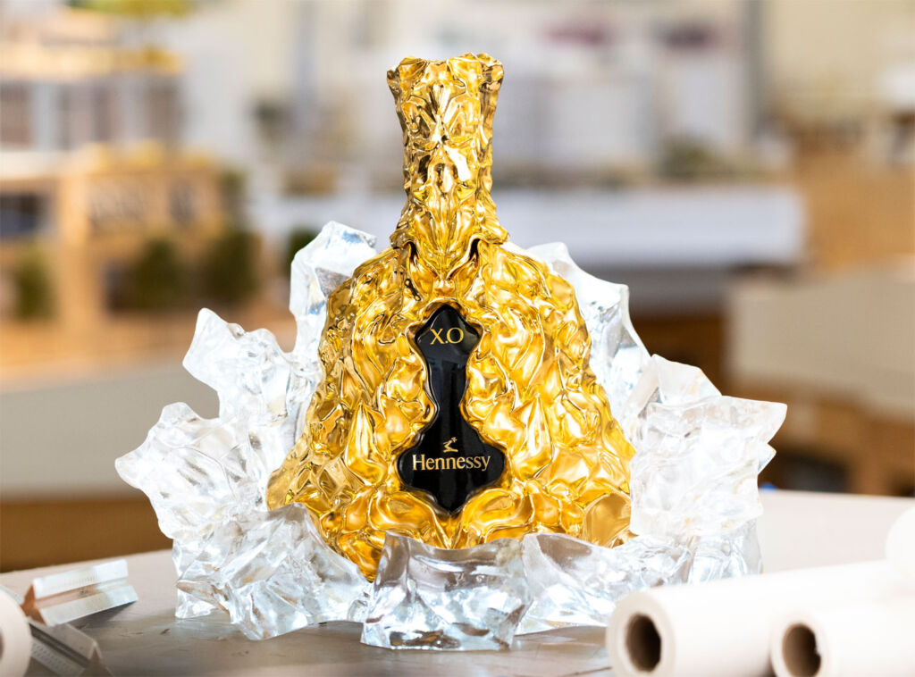 Frank Gehry's masterpiece bottle decanter
