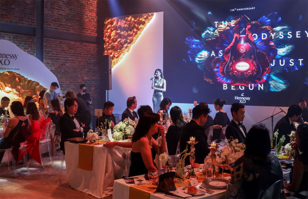 Celebrating 150 Years of Hennessy X.O with Fine Food, Fireworks & Frank Gehry