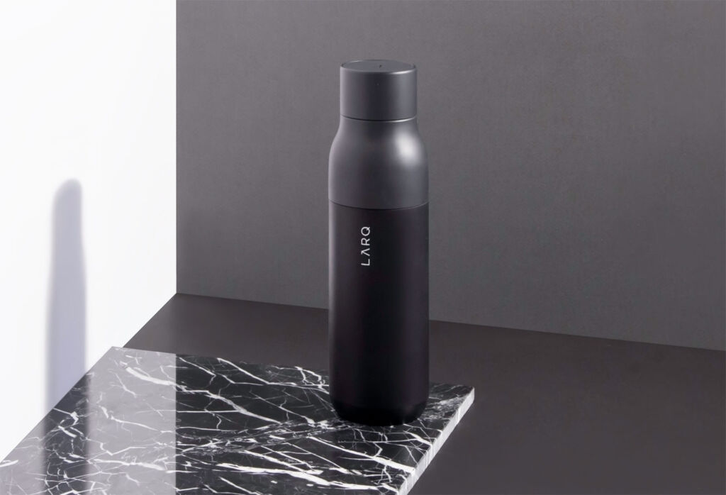 The LARQ Bottle Provides Fresh Drinking Water at the Touch of a Button