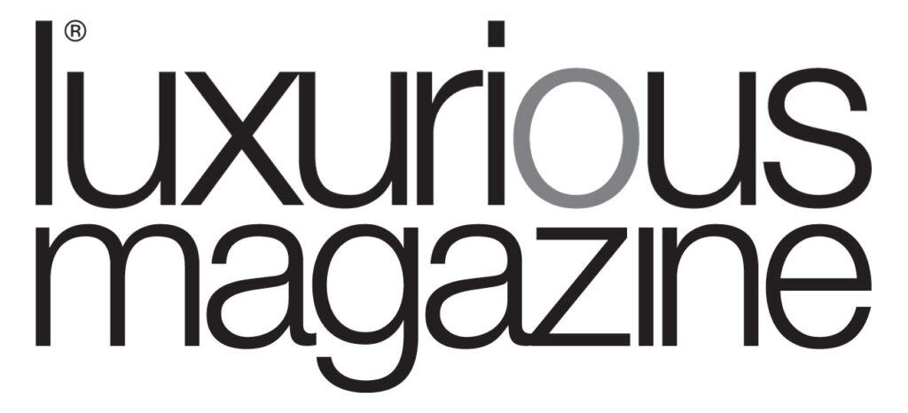 Luxurious Magazine Logo two line version