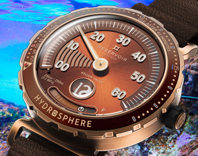 Dive Into The Maldives Edition Reservoir Hydrosphere Bronze X Revolution