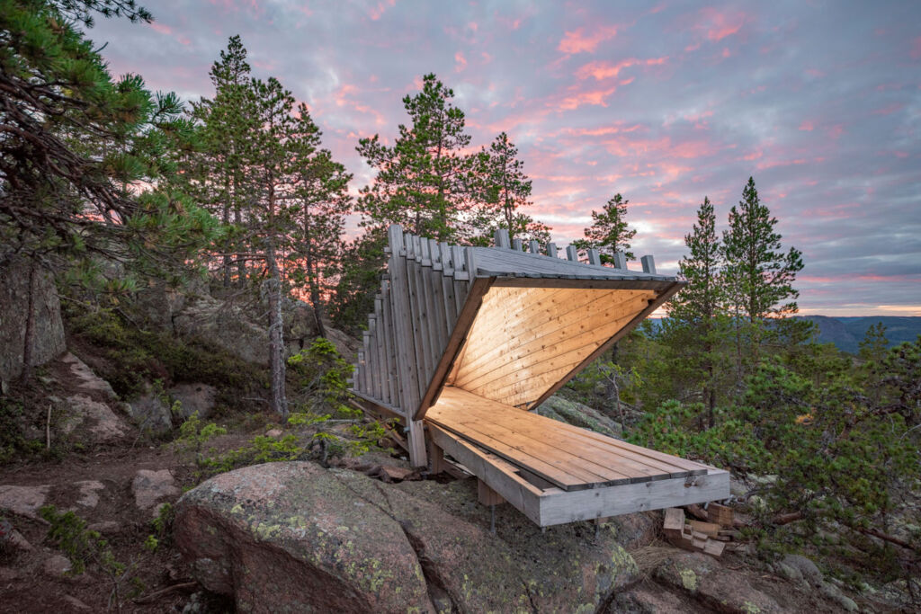 ArkNat shelter in Sweden