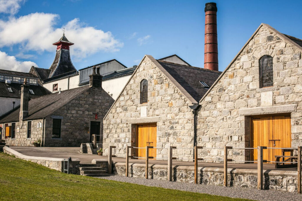 Maturation at the Knockdhu Distillery