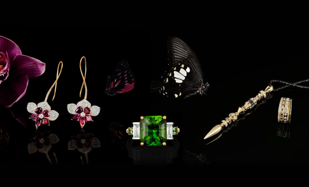 The jewellery collection designed by Kate McCoy