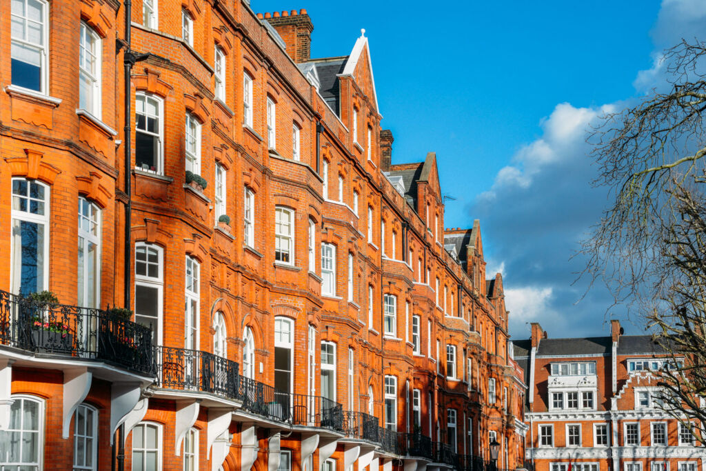 Parts of London are not seeing an increase in buyer activity