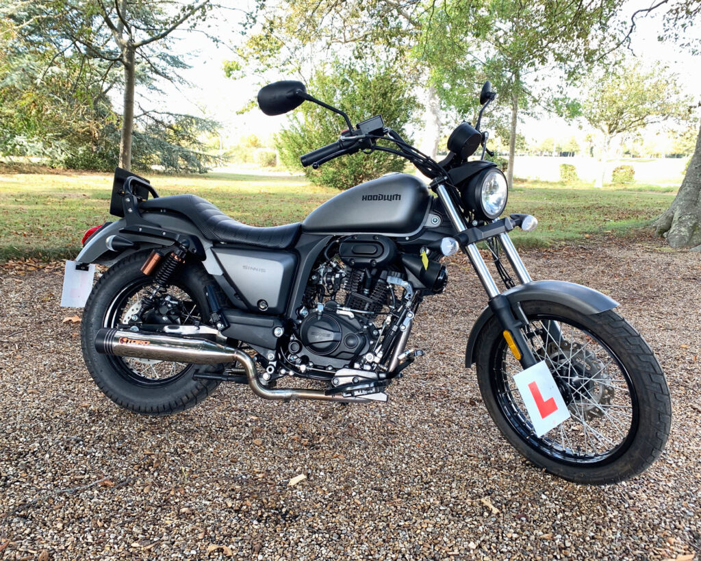 The Sinnis Hoodlum 125cc Creates Some Noise in the Learner Market