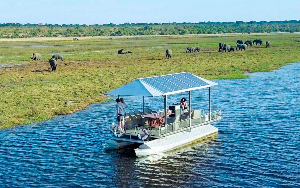 How Chobe Game Lodge's Solar-Powered Boats are Changing the Safari Industry