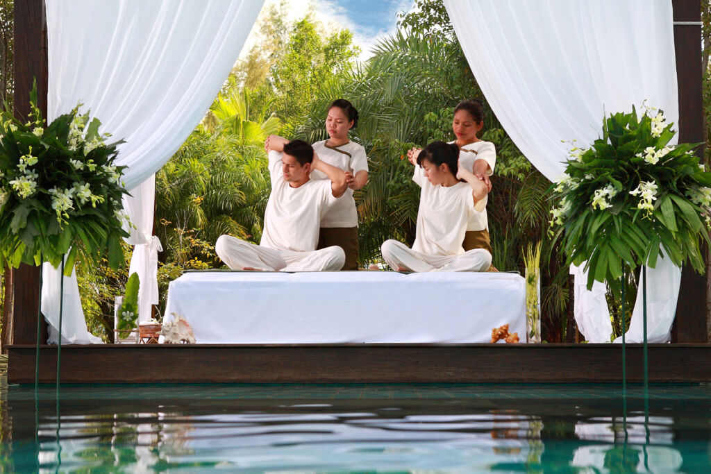 Spa treatments at The Sarojin in Thailand