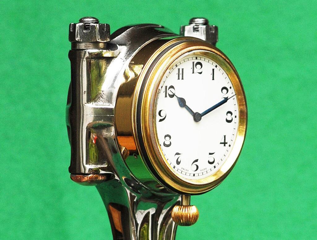 D-Type Jaguar Racer Becomes Automotive Art With Limited Edition Clock