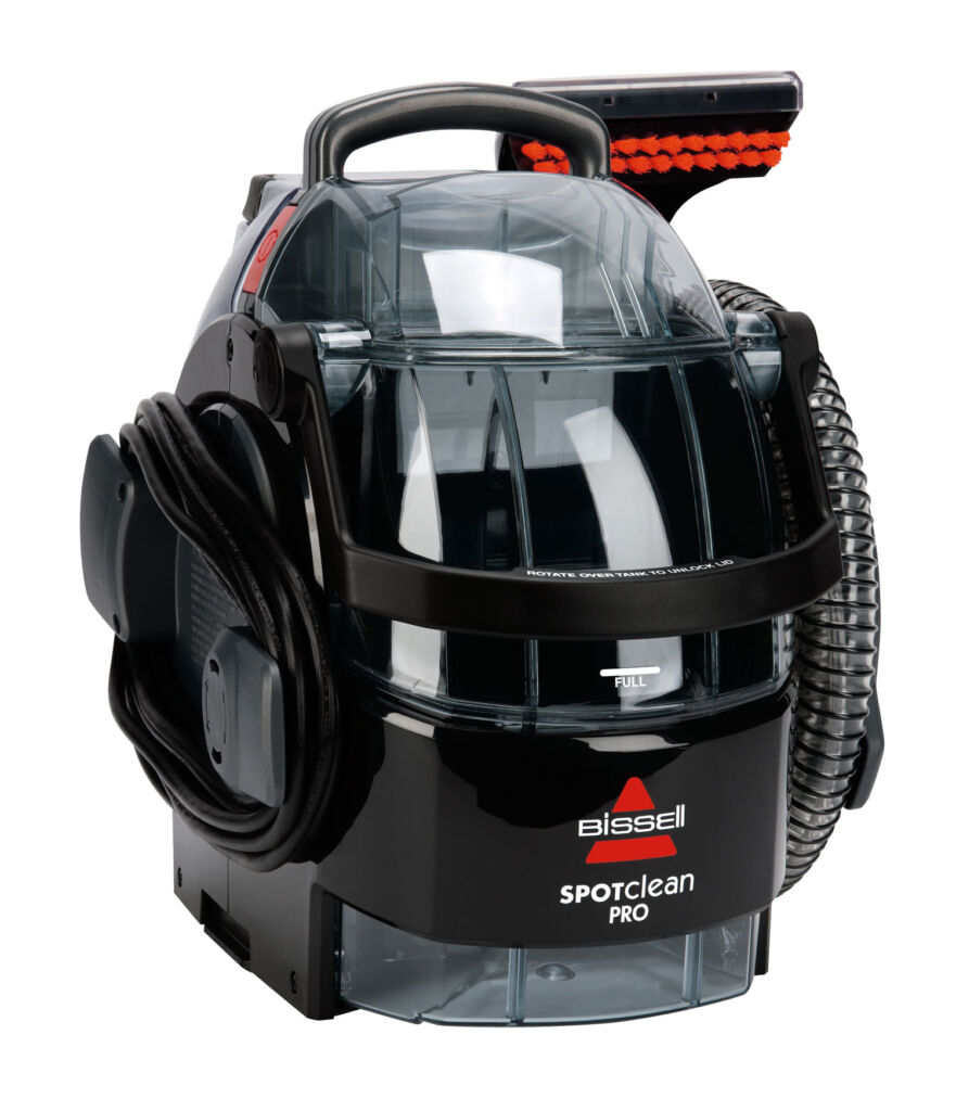 The BISSELL SpotClean Pro machine on a white background