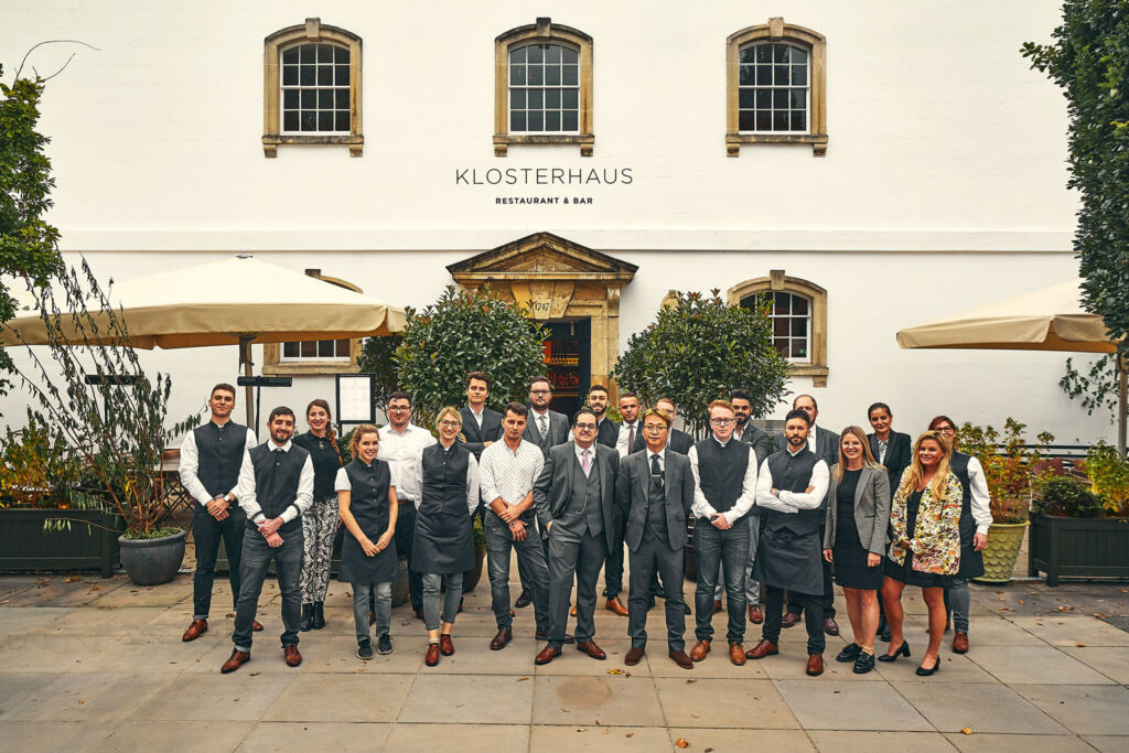 The team at Klosterhaus Restaurant