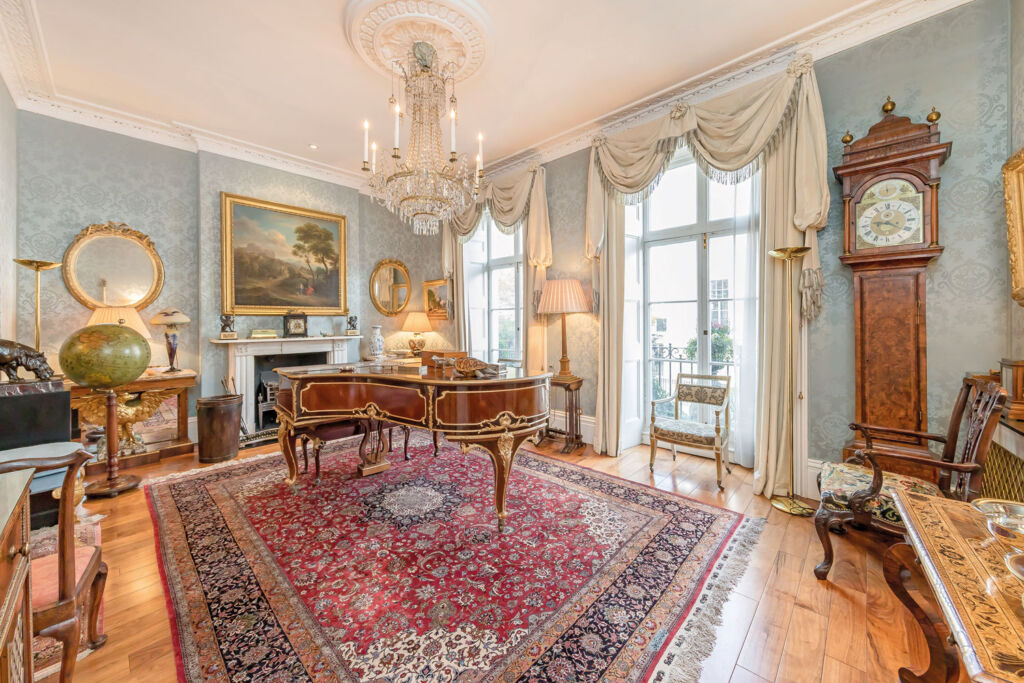 A beautiful living room in one of the agency's properties