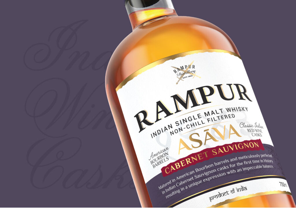 Bottle of Rampur Asava Cabernet Sauvignon