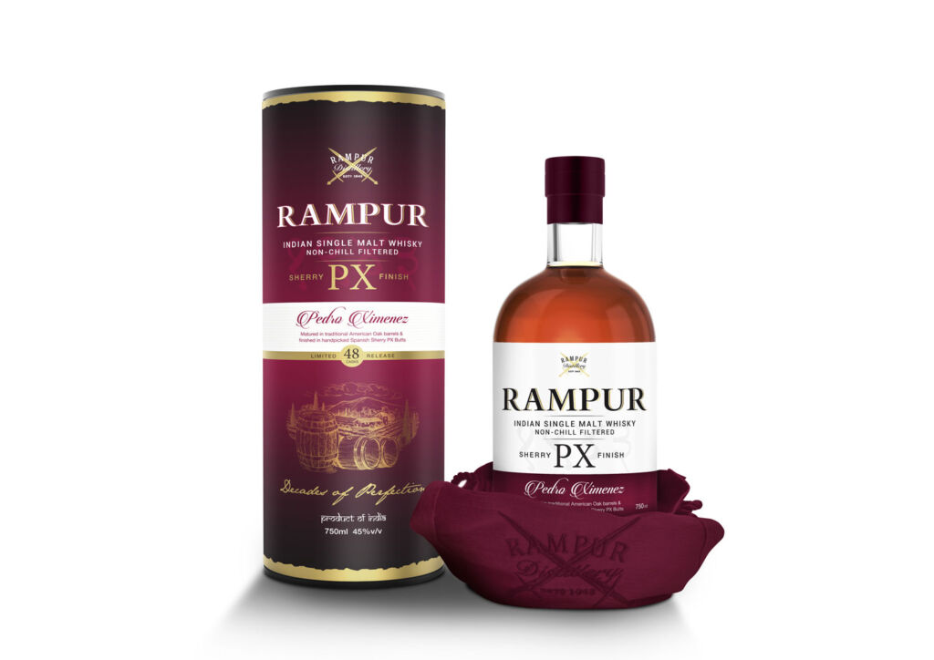 Bottle of Rampur PX Sherry Finish