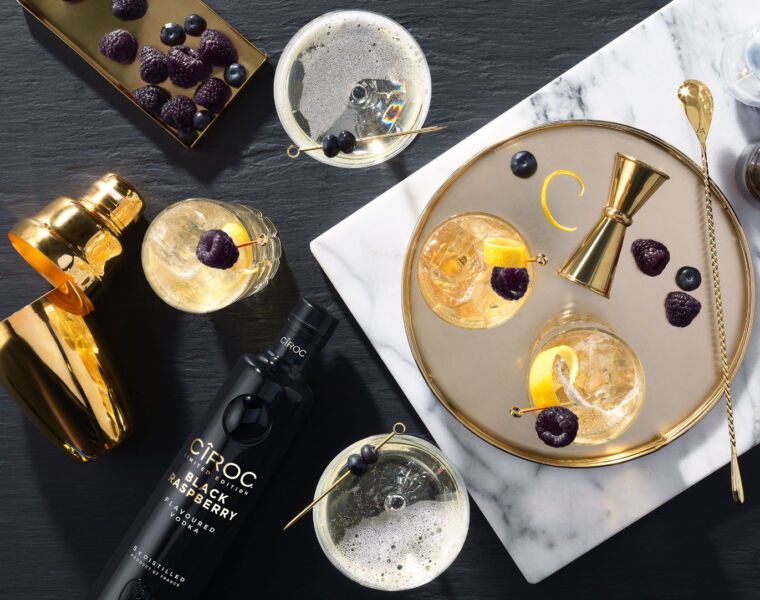 CÎROC Black Raspberry Vodka Adds a Touch of Glamour to Winter