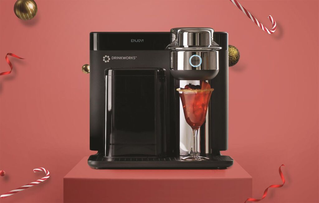 Drinkworks Home Bar Cocktail Machine Will Bring Extra Fun to Christmas