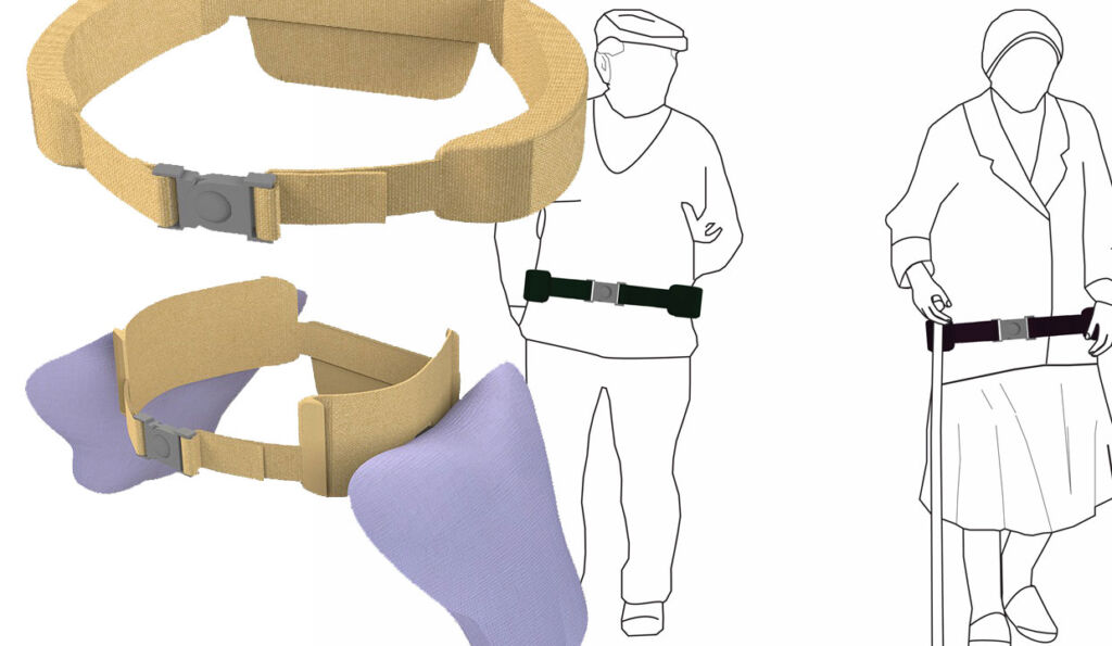 The Fallsafe airbag belt by Colm Flynn of the University of Limerick
