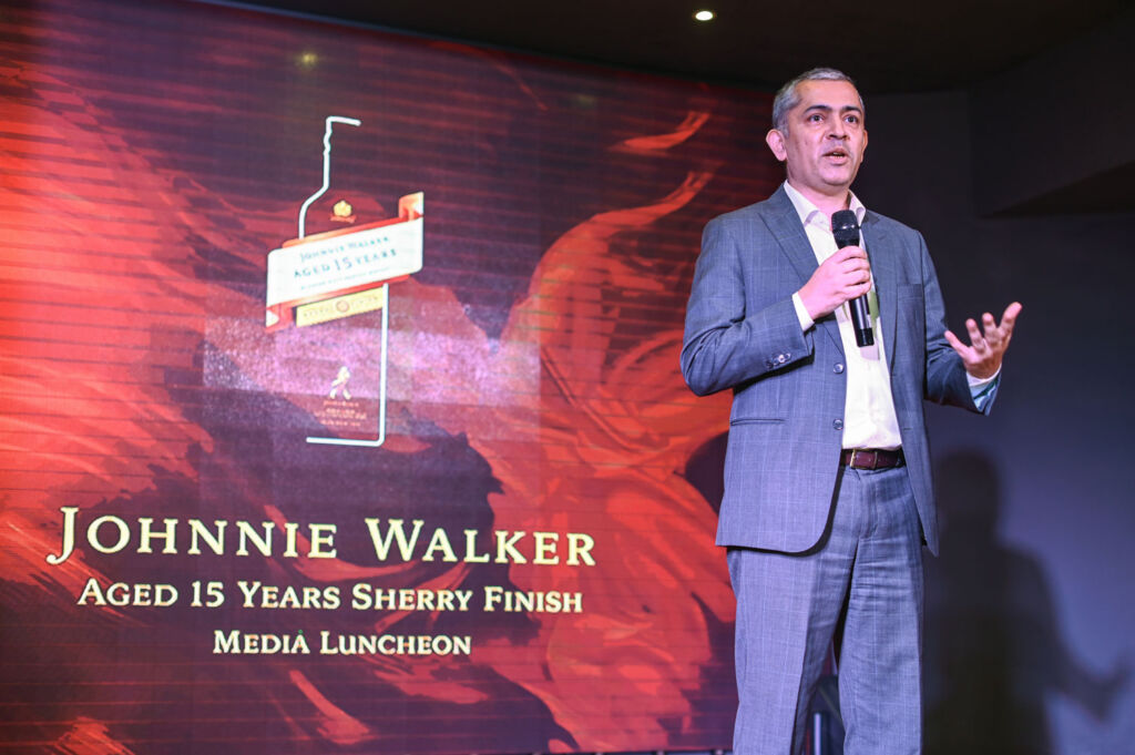 Rajesh Joshi, Marketing Director of Diageo Malaysia