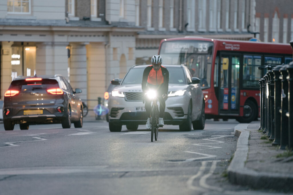 Regularly check your lights when out cycling