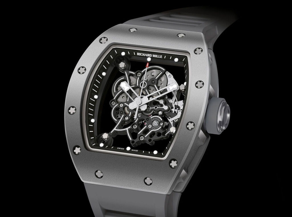 Richard Mille Bubba Watson Grey