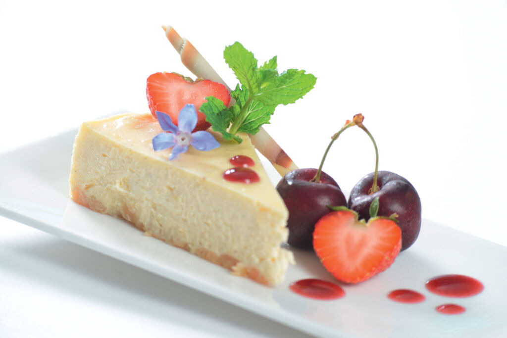 One of the delicious desserts available in The LOFT