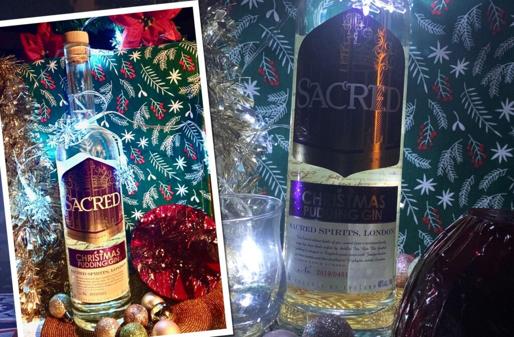 Enjoy Your Christmas Pudding Gin With a Splash of Tonic