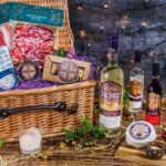 Sacred Hamper with Christmas Pudding Gin