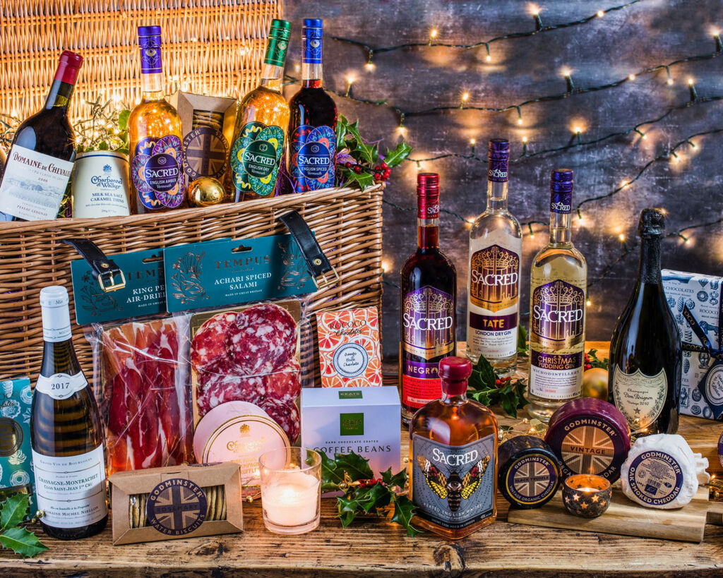 The Mouthwatering Contents Inside Sacred Spirits New Luxury Hampers