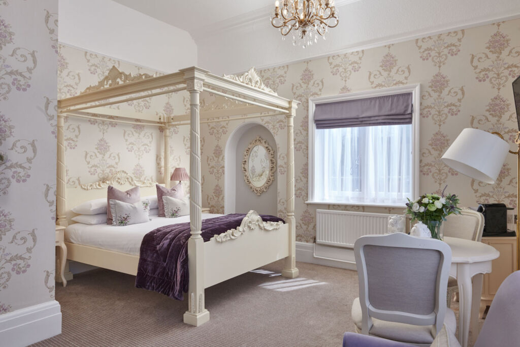 The Signature suite with its four poster bed