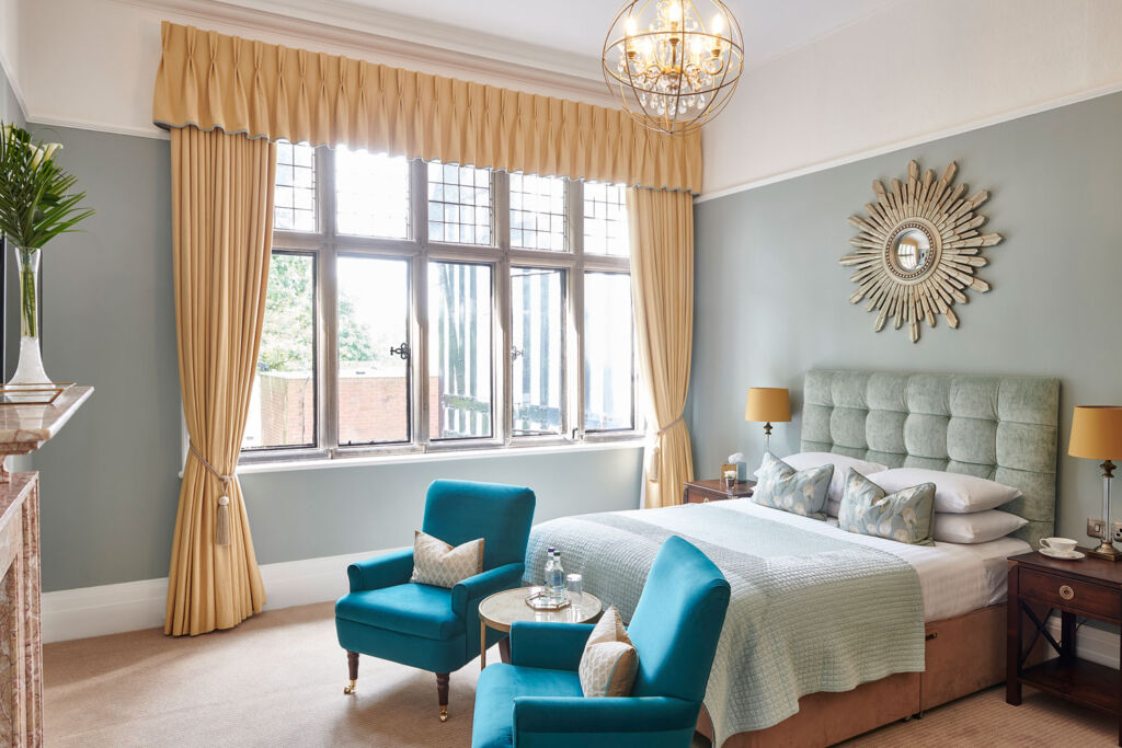 One of the superior rooms at the Laura Ashley Hotel - The Iliffe