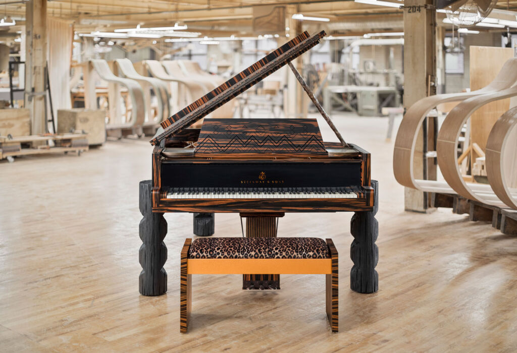 The Kravitz Grand Piano in the Steinway & Sons factory